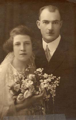 wedding campbell 1922